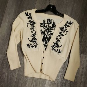 Vintage White House Black Market Cardigan